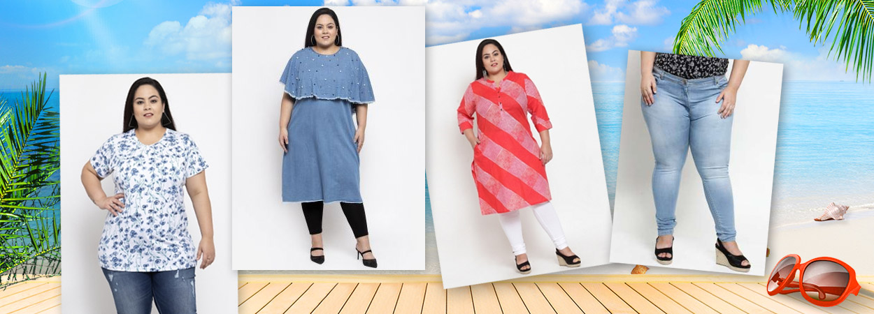Get the Trendy Plus Size Clothing for Women this Summer