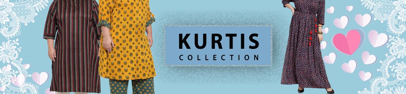 Beautify your wardrobe with ravishing 4XL Kurtis