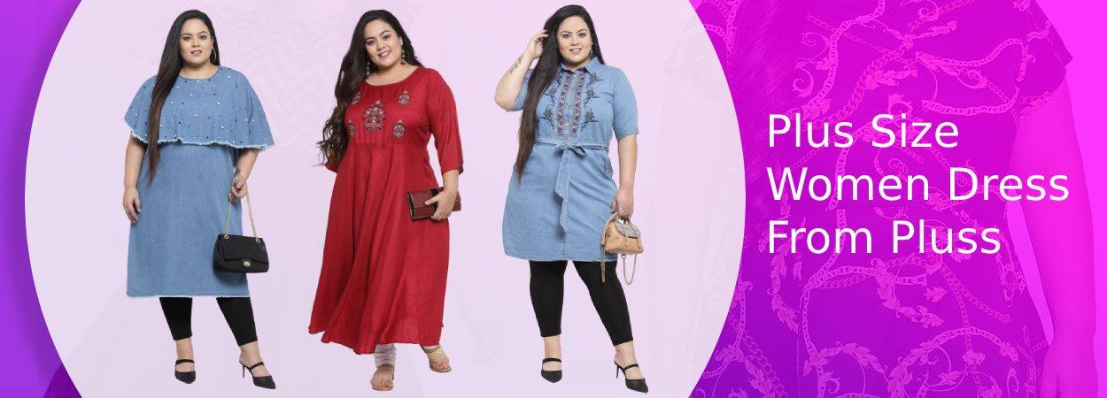 Plus Size Women Dress From Pluss