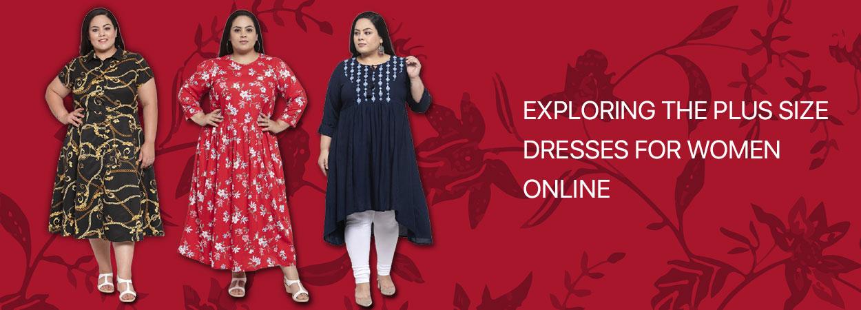 Exploring the Plus Size Dresses for Women Online