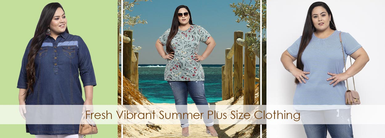 Get Some Fresh Vibrant Summer Plus Size Clothing