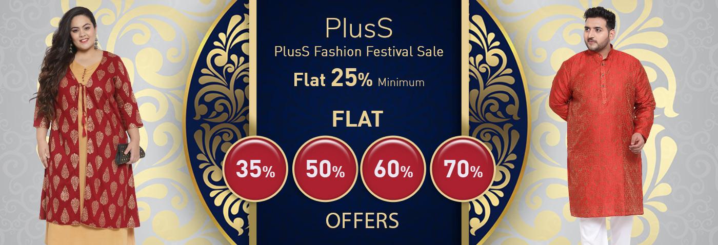 PlusS Fashion Festival Sale