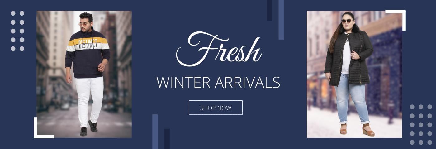 Fresh Winter Arrivals