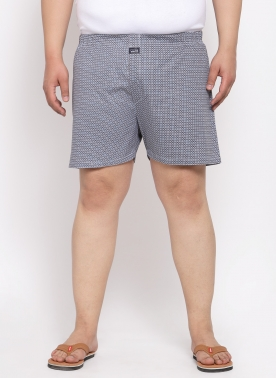 Men Printed Cotton Boxers