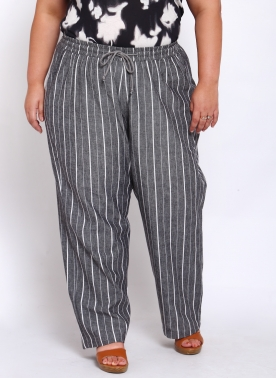 Women Grey Checked Trackpants