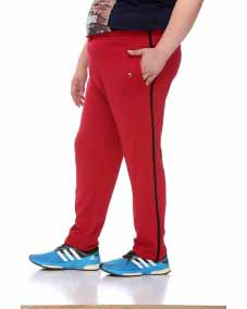 z Maroon Trackpant with Black Lining