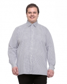 a White/Blue Formal Shirt
