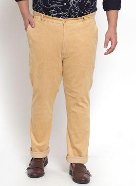 Beige Cordroy Trouser
