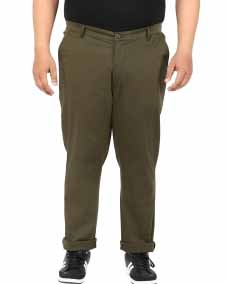 Dk.Olive Casual Trouser