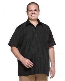 Black Formal HALF SLEEVE  Shirt