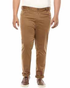 Khaki Casual Trouser