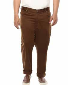 Olive Trouser With Regular Fit