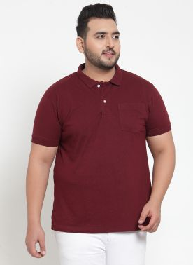 Solid Polo T-Shirt