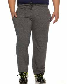 BLACK GRINDEL TRACKPANT WITH REGULAR FIT