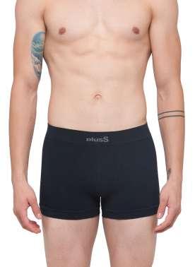plusS Men Navy Solid Trunks