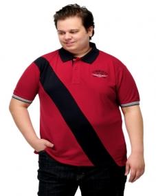 Stripe Polo T-shirt