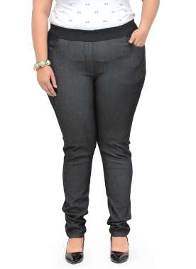 plusS Charcoal Grey Tight Fit Jeggings
