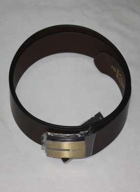 plusS mens leather belt