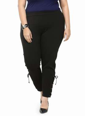 plusS Black Jeggings