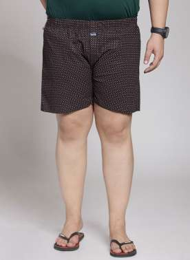 Cotton Check Boxer