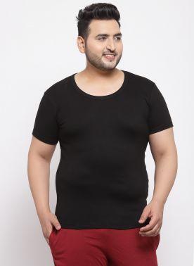Black Innerwear Vests