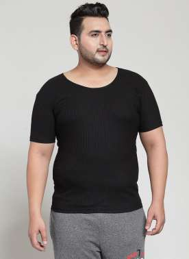 Black Innerwear Thermal  Vests (Winter)