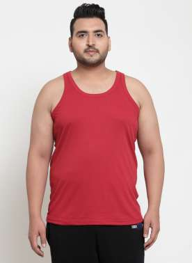 Red Innerwear Vests