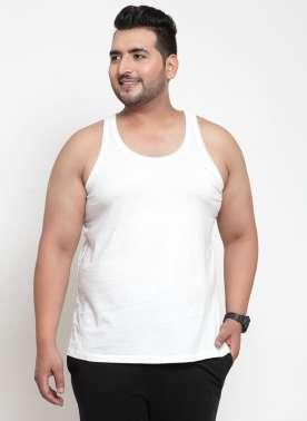White Innerwear Vests
