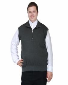 C/s sweatshirt with Neck Zipper