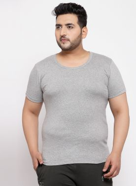 Grey Innerwear Vests