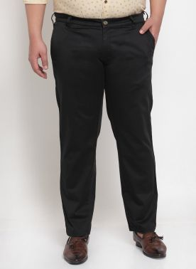 Men Black Trousers