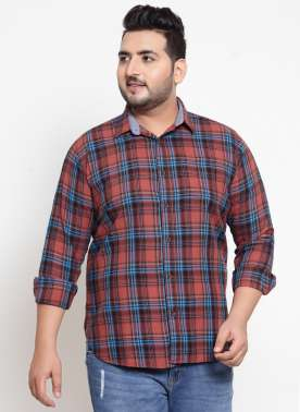 Men's full Sleeve Checked Shirt