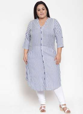 BLUE & WHITE STRIPE TUNIC