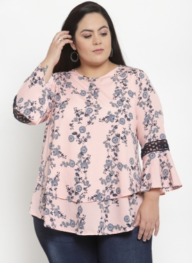 Women Pink Solid Top