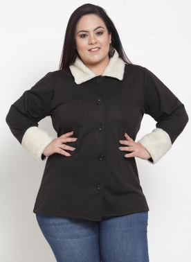 Black Woollen Jacket