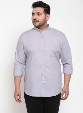 Men Mauve Regular Fit Self Design Casual Shirt