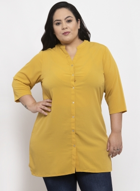 Mustard Yellow Tunic