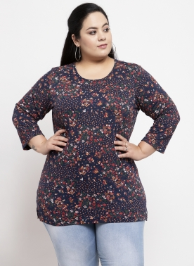 Women Multicoloured Printed Top