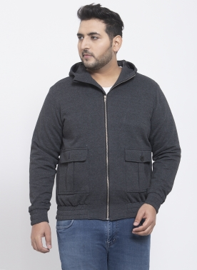 Men Black Solid Lightweight Jacket